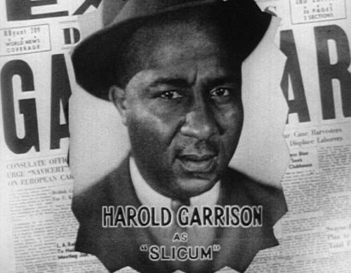Harold Garrison Gang War